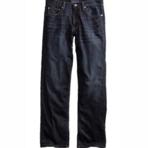 Lucky 221 Straight Jean Barite dark wash W34 L30